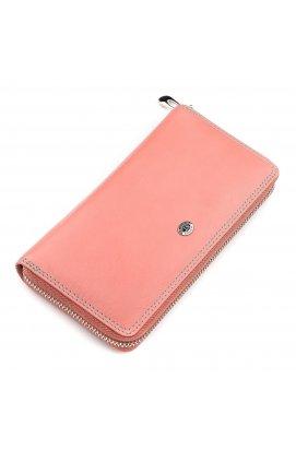 Гаманець жіночий ST Leather 18378 (SB71) річний Рожевий