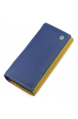 Кошелек женский ST Leather 18385 (SB237) красочный Синий