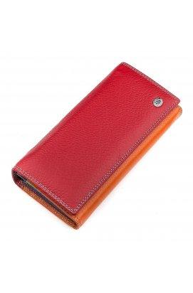 Кошелек женский ST Leather 18386 (SB237) кожа Красный Красный