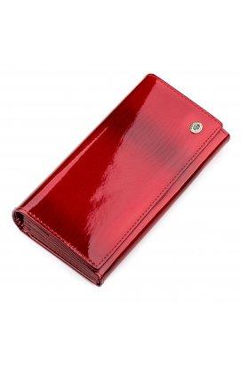 Гаманець жіночий ST Leather 18392 (S2001A) багатофункціональний Червоний Червоний