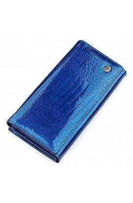 Кошелек женский ST Leather 18394 (S3001A) вместительный Синий