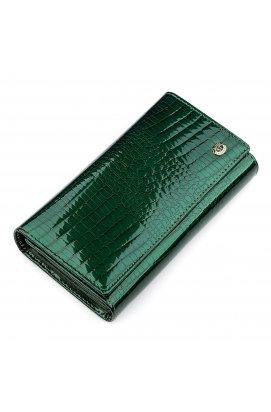 Гаманець жіночий ST Leather 18428 (S8001A) зручний Зелений
