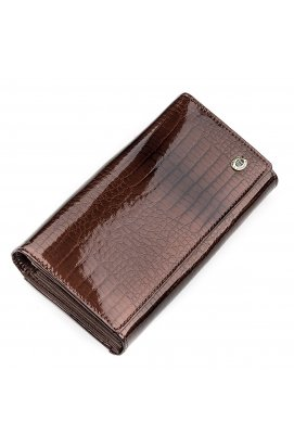Кошелек женский ST Leather 18431 (S9001A) лакированная кожа
