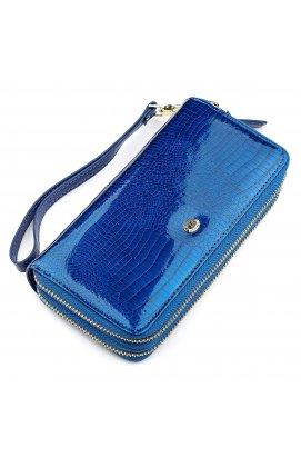 Гаманець жіночий ST Leather 18447 (S5001A) на блискавки Синій