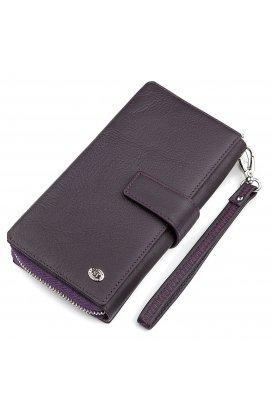 Кошелек женский ST Leather 18455 (SТ228) удобный Фиолетовый