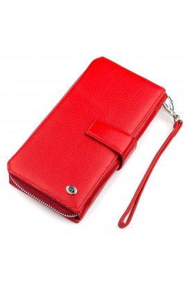Кошелек женский ST Leather 18456 (SТ228) очень красивый Красный Красный