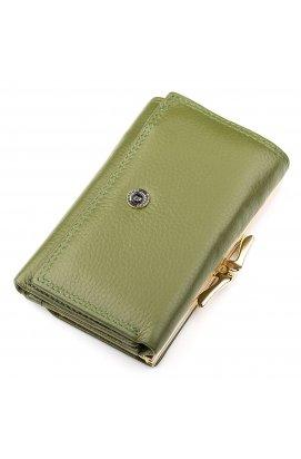 Кошелек женский Boston 18460 (S1201B) стильный Зеленый