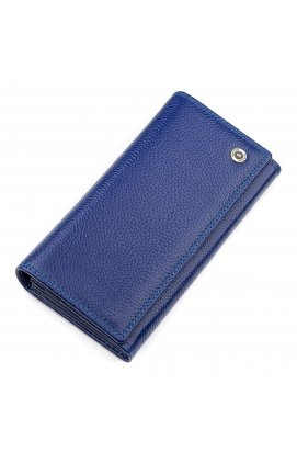 Кошелек женский Boston 18481 (S2001B) стильный Синий Фиолетовый