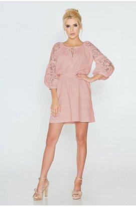 Платье 593-PW03 - Розовый
