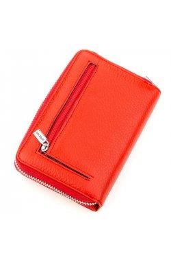 Кошелек женский KARYA 17254 кожаный Красный Красный