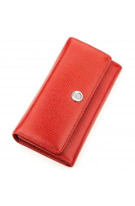 Кошелек женский KARYA 17255 кожаный Красный Красный