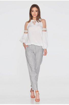 Блуза 783-PW01 - Молочный