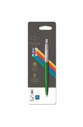Ручка шариковая Parker JOTTER 17 Plastic Green CT BP блистер 15 236