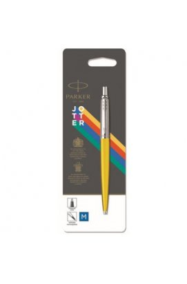 Ручка шариковая Parker JOTTER 17 Plastic Yellow CT BP блистер 15 336