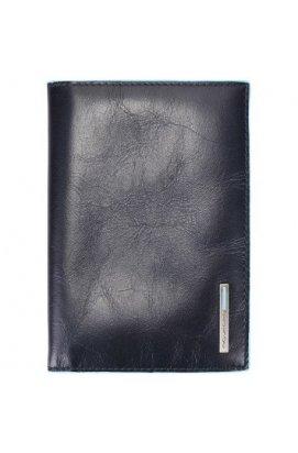 Обложка для паспорта Piquadro BL SQUARE/N.Blue AS300B2_BLU2