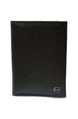 Обложка для паспорта Piquadro BK SQUARE/Black AS300B3_N