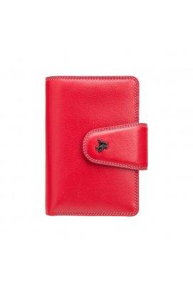 Гаманець жіночий Visconti SP31 Poppy c RFID (Red Multi Spectrum)