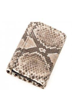 Вертикальный кошелек SNAKE LEATHER 18295 из натуральной кожи морского питона