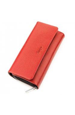 Кошелек женский KARYA 17249 кожаный Красный Красный