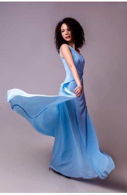 Платье вечернее струющаеся