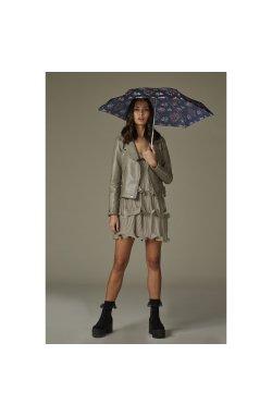 Зонт женский Fulton Tiny-2 L501 Steel Roses (Стальные Розы)