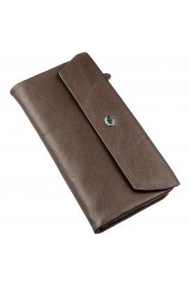 Практичний жіночий гаманець-клатч ST Leather 18841