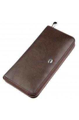 Вертикальный женский кошелек ST Leather 18860
