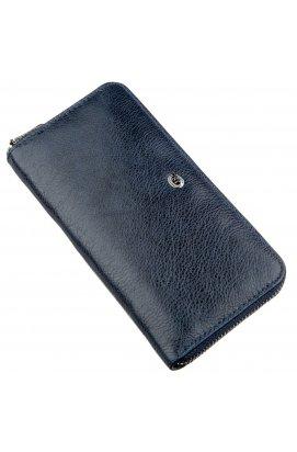 Вертикальный женский кошелек-клатч ST Leather 18864 Синий