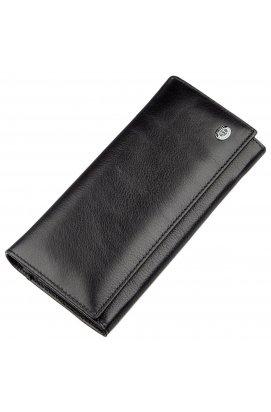 Практичный женский кошелек на магнитах ST Leather 18870