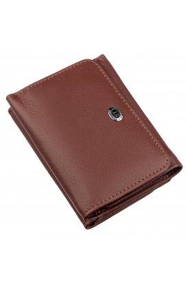 Жіночий гаманець з монетницьою на кнопці ST Leather 18887