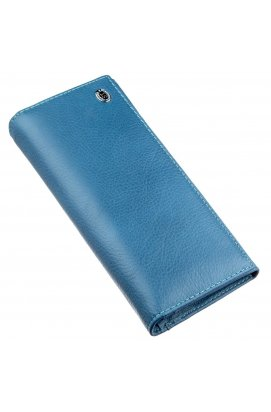 Практичный женский кошелек ST Leather 18899 Голубой
