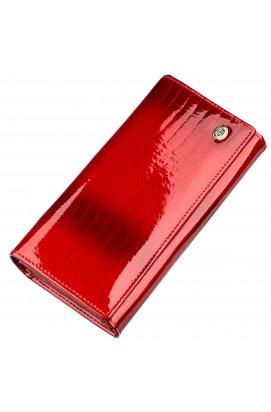 Лаковий жіночий гаманець ST Leather 18903 Червоний Червоний