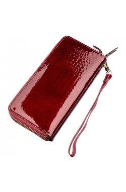 Женский клатч с двумя отделениями ST Leather 18907 Бордовый