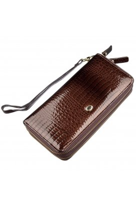 Жіночий лаковий клатч ST Leather 18908