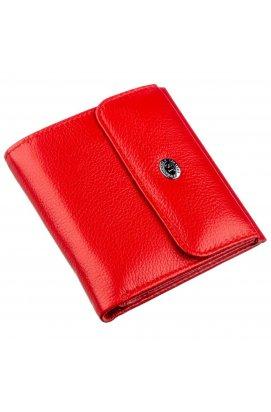 Портмоне для жінок з монетницьою ST Leather 18918 Червоний Червоний