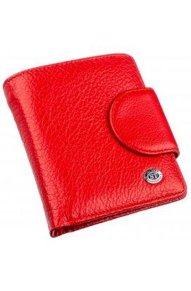 Оригінальний жіночий гаманець ST Leather 18923 Червоний Червоний