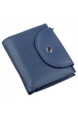 Небольшой женский кошелек ST Leather 18928 Синий