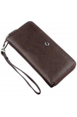 Місткий жіночий клатч ST Leather 18930