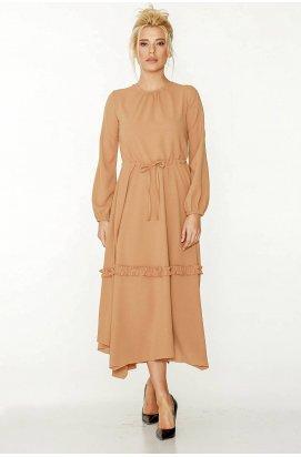 Платье 817-c01 - Коричневый