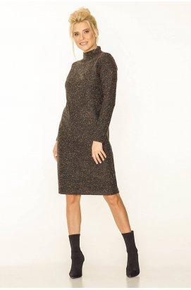 Платье 820-c01 - Коричневый