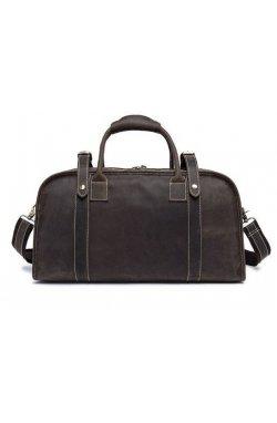 Дорожная сумка Crazy 14895 Vintage Серо-коричневая