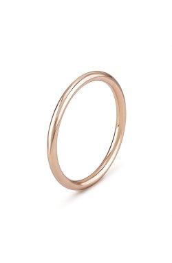 Золотое обручальное кольцо классика из красного золота 585-й пробы (1114903)