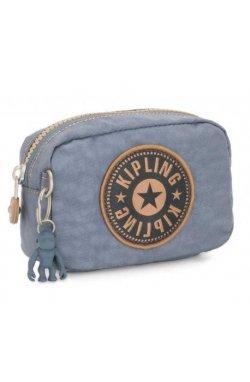 Косметичка Kipling BASIC / Stone Blue Bl KI6852_L65