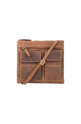 Сумка Visconti 18608 Slim Bag (Oil Tan)