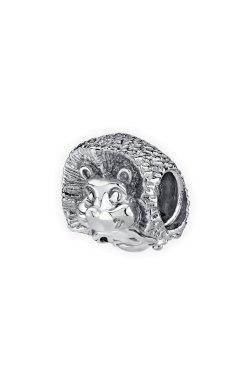 Бусина подвеска ежик серебро small из родированного серебра 925-й пробы (31 74 )