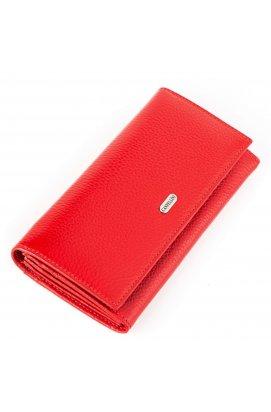 Кошелек женский CANPELLINI 17049 кожаный Красный Красный