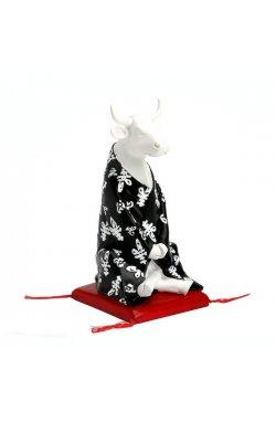 Коллекционная статуэтка корова Meditating - wws-2071