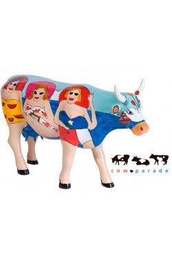 Коллекционная статуэтка корова Fun Seeker - wws-3946