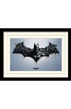 """Постер в раме """"Batman Arkham Origins (Logo)"""" - wws-7083"""