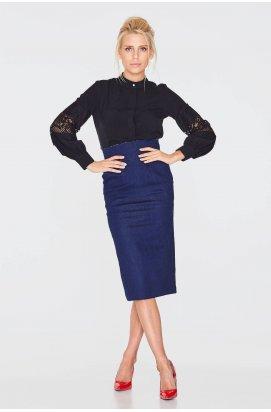 Блуза 862-c01 - Черный